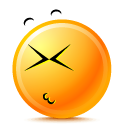 unhappy DarkOrange icon