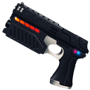 shoot, Gun Black icon