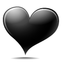 Heart Black icon