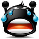 Cry Black icon