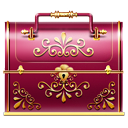 Box Maroon icon