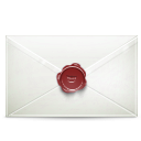 envelope, secret, Email, mail WhiteSmoke icon