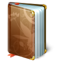 secret, Book SaddleBrown icon