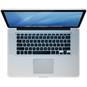 macbook pro, Laptop, mbp Black icon