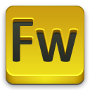 Fw, adobe Goldenrod icon