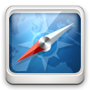 safari SteelBlue icon