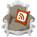 Rss, Beige Gray icon