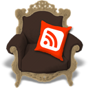 Rss, Brown DarkSlateGray icon