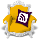 Rss, Candyellow Orange icon