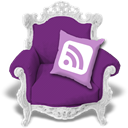 violet, Rss Purple icon
