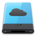 Blue, B, idisk DarkSlateGray icon