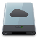 Graphite, B, idisk DarkGray icon