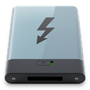 B, Graphite, thunderbolt DarkGray icon
