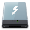 thunderbolt, Graphite, w DarkGray icon