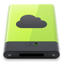 idisk, green DarkSlateGray icon