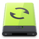 sync, green Khaki icon