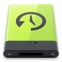 green, time, machine DarkSlateGray icon