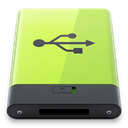 Usb, green Khaki icon