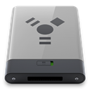Firewire, B, grey DarkGray icon
