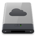 idisk, B, grey DarkGray icon