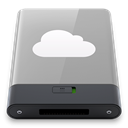 grey, idisk, w DarkGray icon