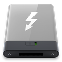 grey, w, thunderbolt DarkGray icon
