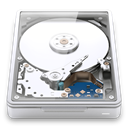 harddisk, internal, storage, Clear, drive, Disk, Harddrive GhostWhite icon