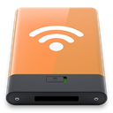 Orange, w, Airport SandyBrown icon
