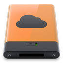 idisk, B, Orange DarkSlateGray icon