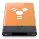 Firewire, Orange, w SandyBrown icon