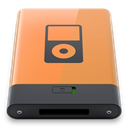Orange, ipod, B SandyBrown icon
