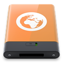Orange, Server, w SandyBrown icon