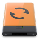 B, sync, Orange SandyBrown icon