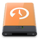 time, Orange, w, machine SandyBrown icon