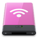 Airport, w, pink Orchid icon