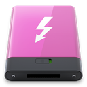 thunderbolt, pink, w Orchid icon