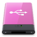 pink, w, Usb Orchid icon