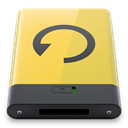 backup, yellow Khaki icon