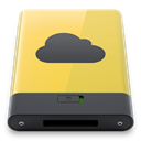 yellow, idisk DarkSlateGray icon