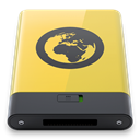 yellow, Server DarkSlateGray icon