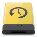 machine, yellow, time Khaki icon