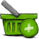 Basket, Add OliveDrab icon