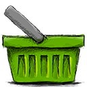 shopping, ecommerce, Empty, Basket, webshop OliveDrab icon
