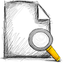 search, File Black icon