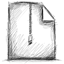 zipped, File Black icon