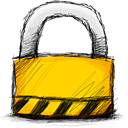 locked, Lock, secure Black icon