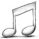 music, off Black icon