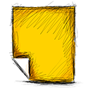 Note Gold icon