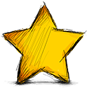 Full, star Gold icon