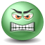 Angry SeaGreen icon